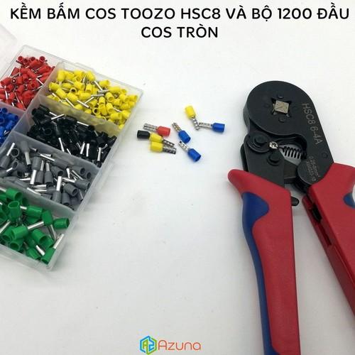 Combo kìm bấm cos TOOZO HSC8 6-4A và bộ 1200 cos tròn - 7336780 , 13994519 , 15_13994519 , 405000 , Combo-kim-bam-cos-TOOZO-HSC8-6-4A-va-bo-1200-cos-tron-15_13994519 , sendo.vn , Combo kìm bấm cos TOOZO HSC8 6-4A và bộ 1200 cos tròn