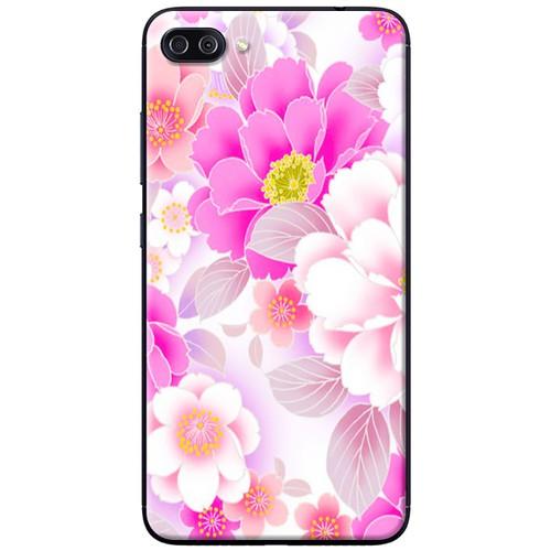 Ốp lưng nhựa dẻo Asus Zenfone 4 Max ZC520KL Hoa trắng hồng