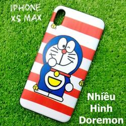 Ốp Lưng iPhone Xs Max Nhiều Hình Doremon Cute