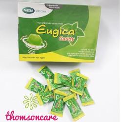 Kẹo Ngậm Eugica  Hộp 100 Viên  Hỗ trợ hệ miễn dịch