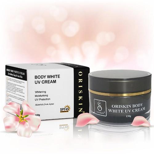Kem Dưỡng Trắng Da Dưỡng Ẩm Toàn Thân Oriskin Body White UV Cream