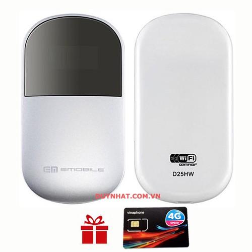 Cục Phát Wifi Di Động Emobile D25HW - Thiết Bị Mạng Phát Wifi Từ Sim - 4637586 , 14012172 , 15_14012172 , 800000 , Cuc-Phat-Wifi-Di-Dong-Emobile-D25HW-Thiet-Bi-Mang-Phat-Wifi-Tu-Sim-15_14012172 , sendo.vn , Cục Phát Wifi Di Động Emobile D25HW - Thiết Bị Mạng Phát Wifi Từ Sim