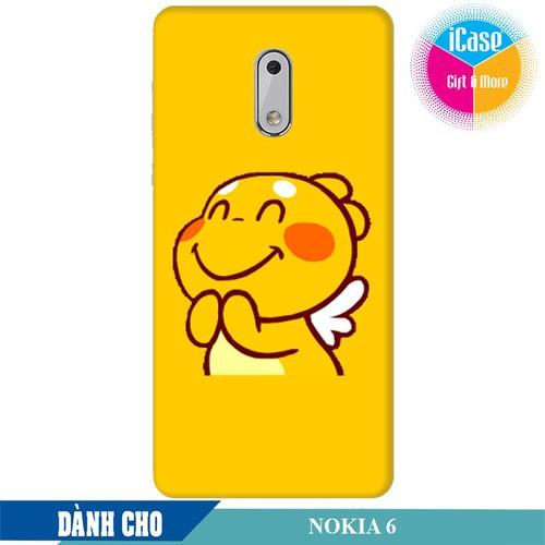 Ốp lưng nhựa dẻo dành cho Nokia 6 in hình Qoobee Mãn Nguyện