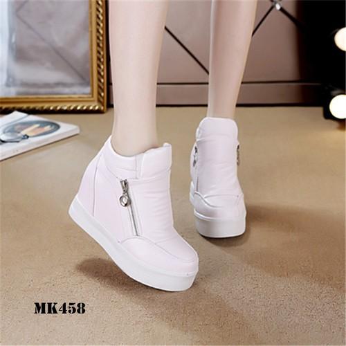 Giày Sneaker Cổ Lỡ Kéo Độn Đế 7cm - 7382429 , 14022167 , 15_14022167 , 458000 , Giay-Sneaker-Co-Lo-Keo-Don-De-7cm-15_14022167 , sendo.vn , Giày Sneaker Cổ Lỡ Kéo Độn Đế 7cm