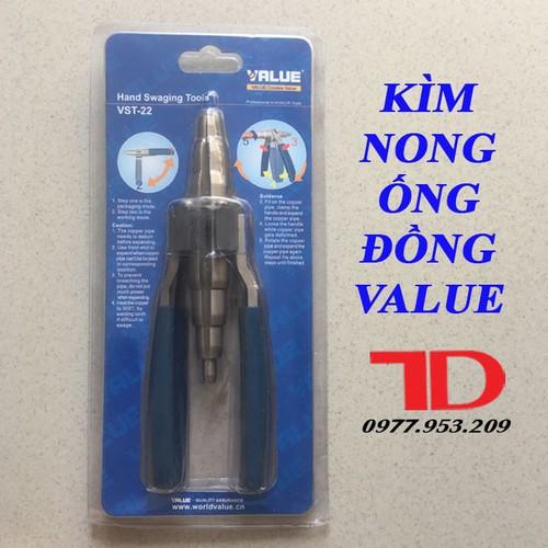 Kìm nong ống đồng VALUE VST 22