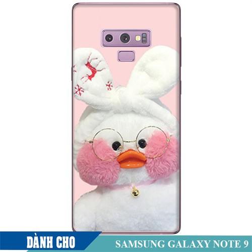 Ốp lưng nhựa dẻo dành cho Samsung GalaxyNote 9 in Vịt Con Dễ Thương Mẫu 2