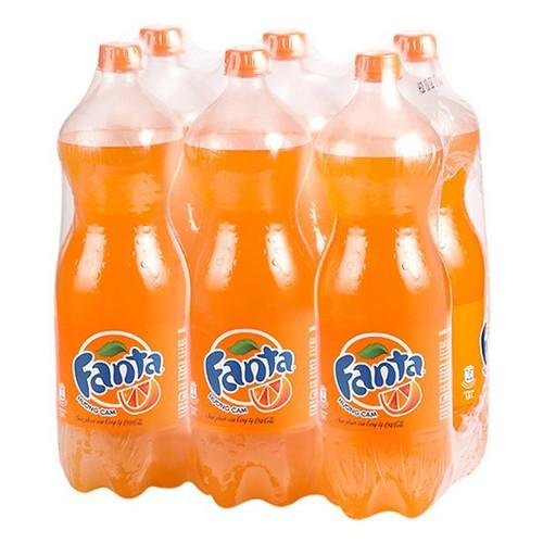 Nước giải khát hương cam Fanta1,5L thùng 12 chai