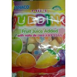 Rau câu NANACO trái cây bịch 375g
