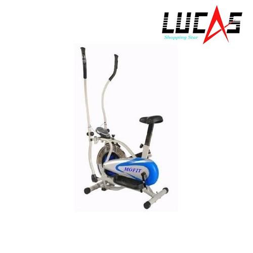 Xe đạp tập thể dục MO2081 Trắng phối xanh