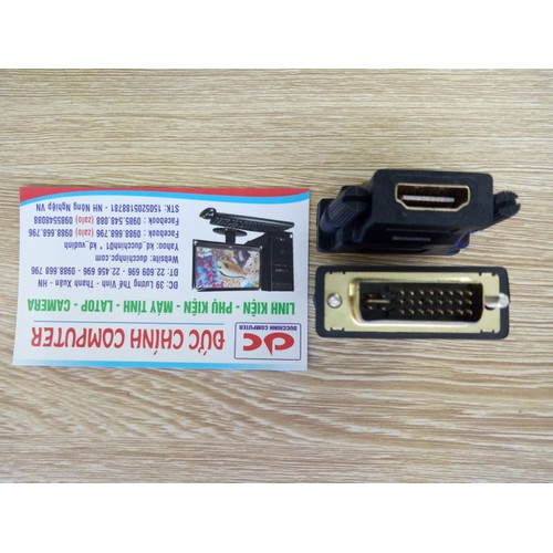 Đầu chuyển DVI 24+5 sang HDMI