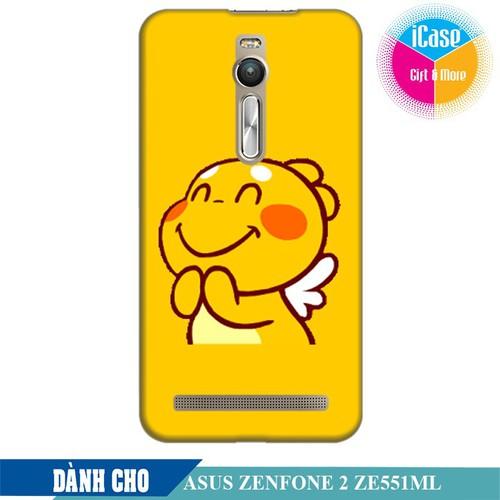 Ốp lưng nhựa dẻo dành cho Asus Zenfone 2 ZE550ML in hình Qoobee Mãn Nguyện