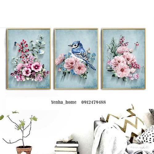 Tranh Canvas Hoa mùa xuân
