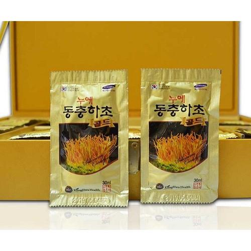 Đông trùng hạ thảo Hàn Quốc hộp gỗ vàng cao cấp 60 gói x30ml - 7378382 , 14019998 , 15_14019998 , 1350000 , Dong-trung-ha-thao-Han-Quoc-hop-go-vang-cao-cap-60-goi-x30ml-15_14019998 , sendo.vn , Đông trùng hạ thảo Hàn Quốc hộp gỗ vàng cao cấp 60 gói x30ml