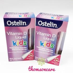 Vitamin D Ostelin của Úc 20ml tăng cường hấp thụ Canxi cho bé - bsvcb