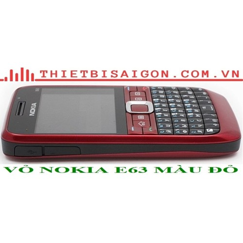 VỎ NOKIA E63 MÀU ĐỎ