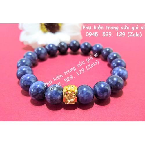 Vòng tay đá Lapis Lazuli| Vòng tay phong thủy cho người mệnh THỦY - MỘC