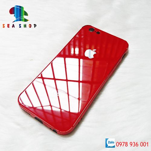 [Tặng kính cường lực] ốp lưng iphone 6 plus - 6s plus lưng kính cường lực, chống xước, chống sốc | ốp lưng ip6p ip6s plus thời trang | case ip6+ iphone6s+