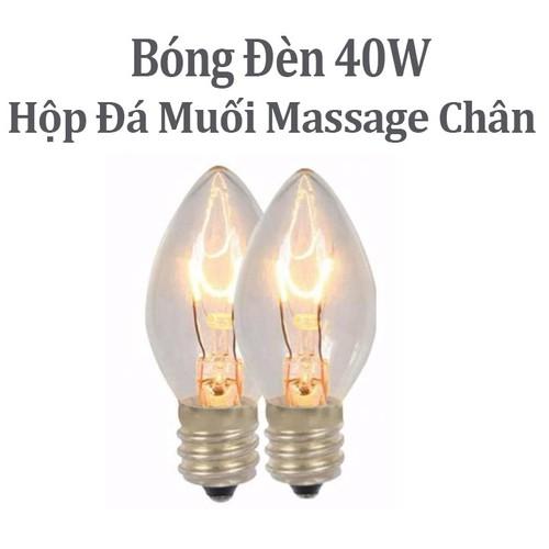 Bóng đèn đá muối massage