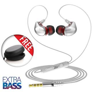 Tai nghe móc tai cao cấp Extra Bass, siêu cách âm, tặng kèm hộp đựng - L5-02 thumbnail