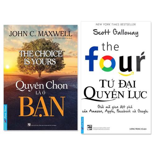 Combo 2 cuốn: Tứ Đại Quyền Lực, Quyền Chọn Là Ở Bạn