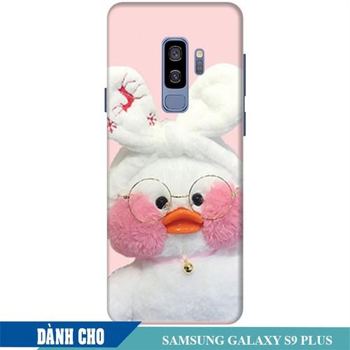 Ốp lưng nhựa dẻo dành cho Samsung Galaxy S9 Plus in Vịt Con Dễ Thương Mẫu 2