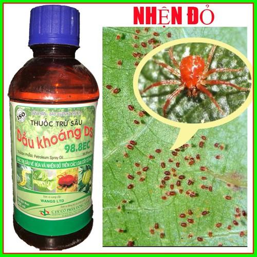 DẦU KHOÁNG DS 98.8EC chai 500ml - Thuốc đặc trị nhện đỏ hại cây trồng - 4638617 , 14021536 , 15_14021536 , 47000 , DAU-KHOANG-DS-98.8EC-chai-500ml-Thuoc-dac-tri-nhen-do-hai-cay-trong-15_14021536 , sendo.vn , DẦU KHOÁNG DS 98.8EC chai 500ml - Thuốc đặc trị nhện đỏ hại cây trồng