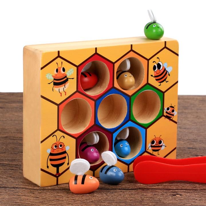 Bộ đồ chơi gắp ong về tổ cho bé vui chơi 3