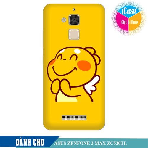Ốp lưng nhựa dẻo dành cho ASUS ZenFone 3 Max ZC520TL in hình Qoobee Mãn Nguyện