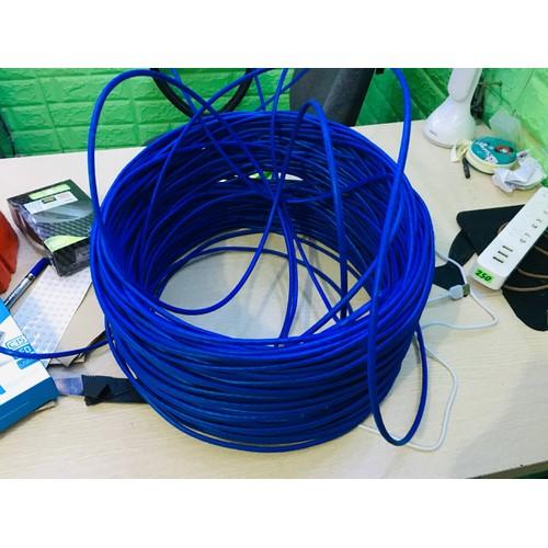 50 Mét dây mạng xịn bấn sẵn 2 đầu màu ngẫu nhiên