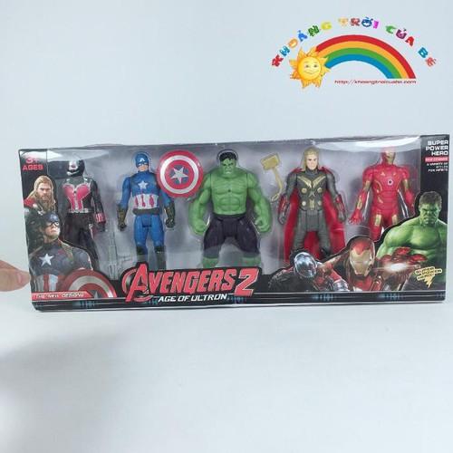 Bộ 6 Nhân Vật Avenger