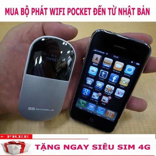 THIẾT BỊ PHÁT SÓNG Wifi ZTE - D25HW TẶNG SIM 4G