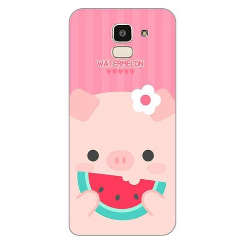 Ốp lưng điện thoại samsung galaxy j6 - Pig 04