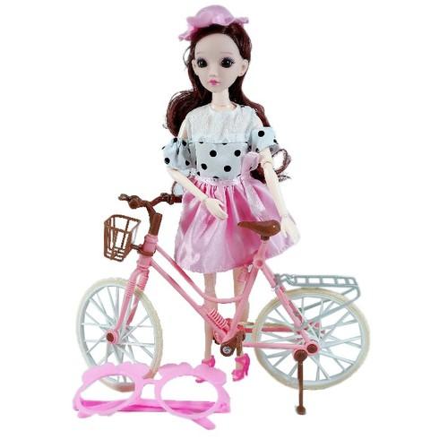 Búp Bê Kèm Xe Đạp Fashion Doll