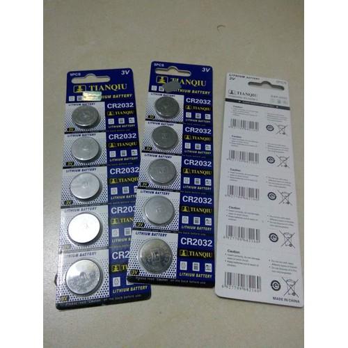 Pin cmos 1 vỉ 5 viên hàng chất lượng