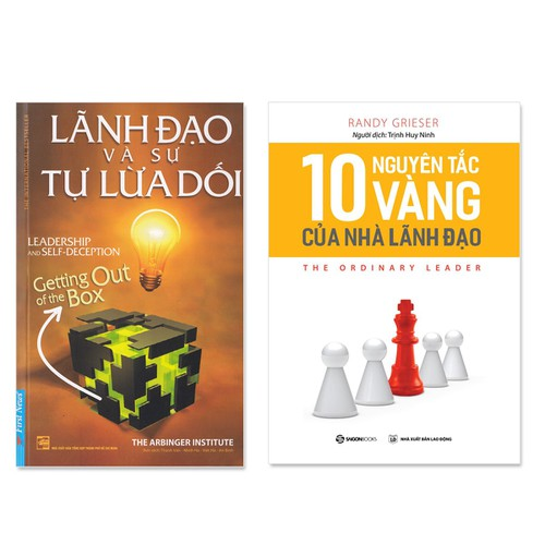 Combo 2 cuốn:  Lãnh Đạo Và Sự Tự Lừa Dối, 10 Nguyên Tắc Vàng Của Nhà Lãnh Đạo - 7370564 , 14015419 , 15_14015419 , 158000 , Combo-2-cuon-Lanh-Dao-Va-Su-Tu-Lua-Doi-10-Nguyen-Tac-Vang-Cua-Nha-Lanh-Dao-15_14015419 , sendo.vn , Combo 2 cuốn:  Lãnh Đạo Và Sự Tự Lừa Dối, 10 Nguyên Tắc Vàng Của Nhà Lãnh Đạo