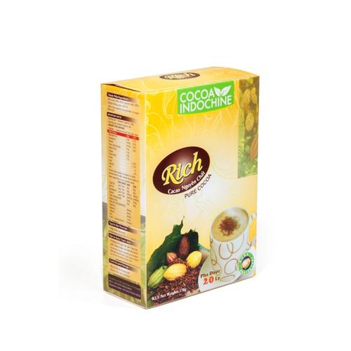 Bột Cacao Hòa Tan Nguyên Chất Rich Cocoa Indochine - Hộp 170g - 7372419 , 14016442 , 15_14016442 , 88000 , Bot-Cacao-Hoa-Tan-Nguyen-Chat-Rich-Cocoa-Indochine-Hop-170g-15_14016442 , sendo.vn , Bột Cacao Hòa Tan Nguyên Chất Rich Cocoa Indochine - Hộp 170g