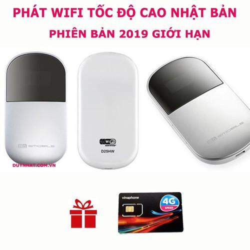 Cục Phát Wifi Emobile D25HW