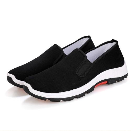 Giày Nam - Giày lười, giày mọi vải nam  hót 2019