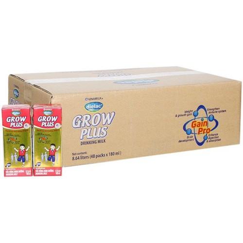 Thùng 48 hộp sữa bột pha sẵn Dielac Grow Plus màu đỏ VINAMILK - Hộp 180ml - 7375075 , 14017932 , 15_14017932 , 474000 , Thung-48-hop-sua-bot-pha-san-Dielac-Grow-Plus-mau-do-VINAMILK-Hop-180ml-15_14017932 , sendo.vn , Thùng 48 hộp sữa bột pha sẵn Dielac Grow Plus màu đỏ VINAMILK - Hộp 180ml