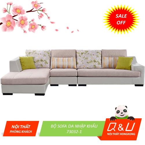 Bộ Sofa da nhập khẩu 73032-1