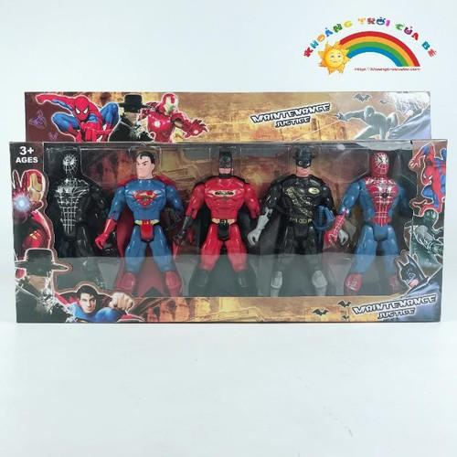 Mô Hình 6 Nhân Vật Super Hero