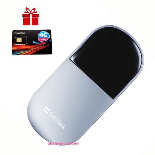 Thiết bị phát Wifi 3G 4G Emobile D25HW - Phát Wifi Chuẩn Hàng Nhật