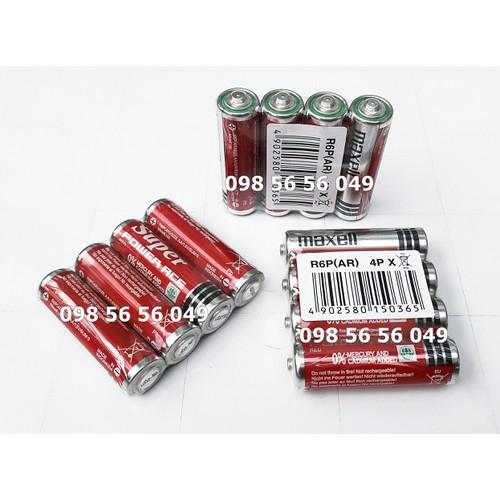 Pin Maxell 2A Super Power [ Vỉ 4 viên ]