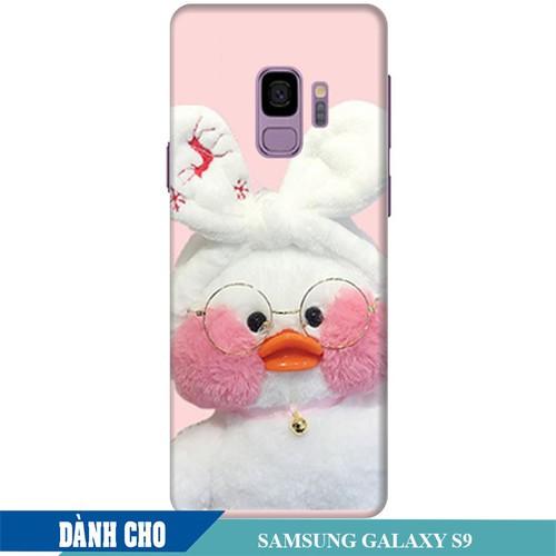 Ốp lưng nhựa dẻo dành cho Samsung Galaxy S9 in Vịt Con Dễ Thương Mẫu 2
