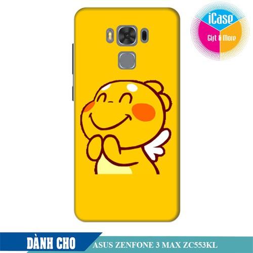 Ốp lưng nhựa dẻo dành cho Asus Zenfone 3 Max ZC553KL in hình Qoobee Mãn Nguyện