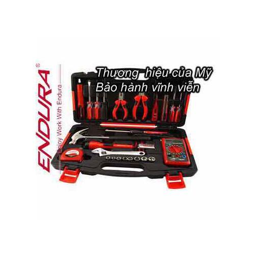 Chính hảng - Bộ dụng cụ đồ nghề sửa chữa đa năng 24 chi tiết Endura E1419