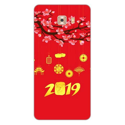 Ốp lưng điện thoại samsung galaxy c9 pro - Hello 2019 mẫu 4