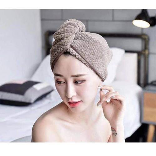 khăn quấn tóc