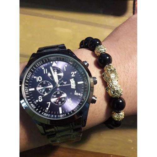 [Có Lịch NGÀY]  Đồng Hồ Nam Giá Rẻ Thời Trang Cao Cấp - Thép Không Gỉ - đồng hồ nam chính hãng FNGEEN đẹp và siêu rẻ
