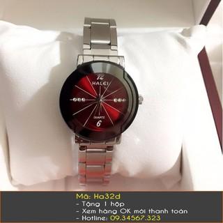 Đồng hồ nữ chính hãng Halei dây bạc - 7328 thumbnail